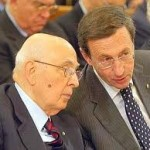 Napolitano e Fini