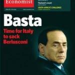 Una copertina dell'Economist critica su Berlusconi