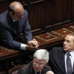Papa con Berlusconi