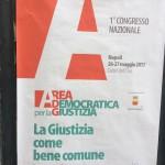 Il manifesto congressuale di Area democratica per la giustizia
