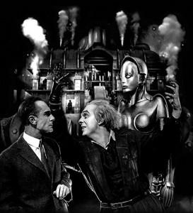 Una scena di Metropolis
