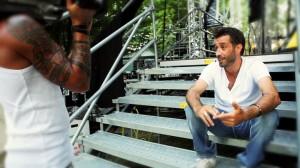 Daniele Silvestri nello spot di 45giriFilm