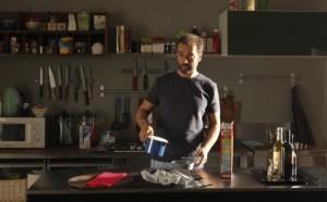 """Fabio Volo in una scena del film """"Il giorno in più"""""""