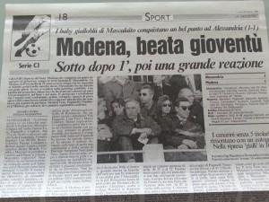 L'articolo della Gazzetta del 19 marzo 1995