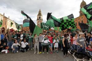 Luigi  Esposito - Sassuolo resta in serie A festa in Piazza