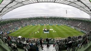 Una panoramica dell'Allianz Stadion