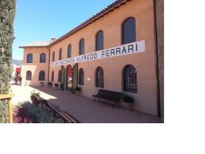 La riproduzione dell'officina Alfredo Ferrari