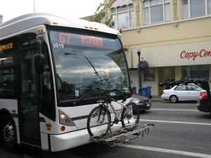 Un autobus di Berkeley in California