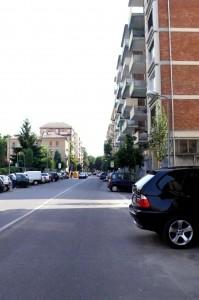 Via Verdi senza alberi