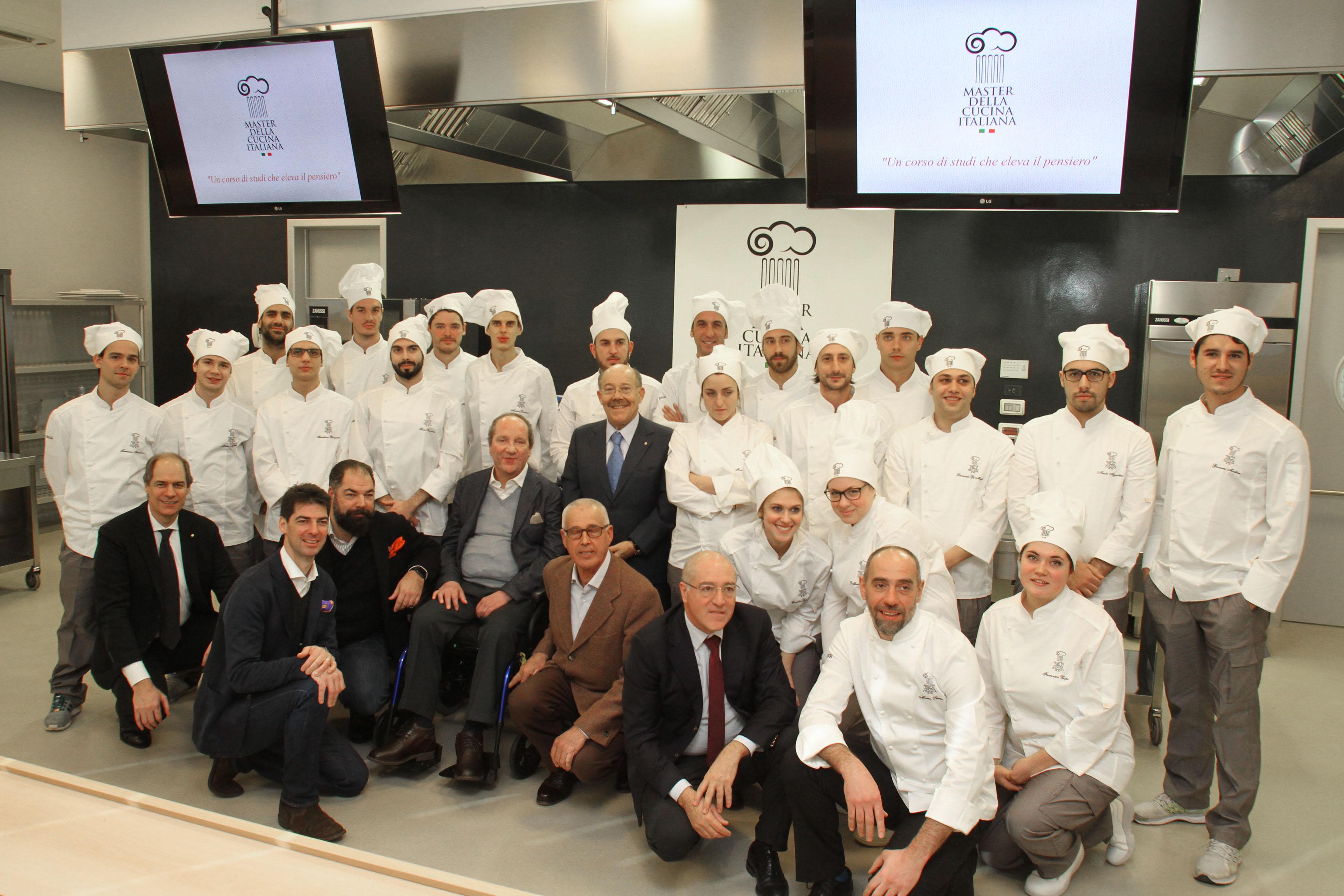 master della cucina italiana esac, alajmo in cattedra - salsa ... - Master Cucina Italiana
