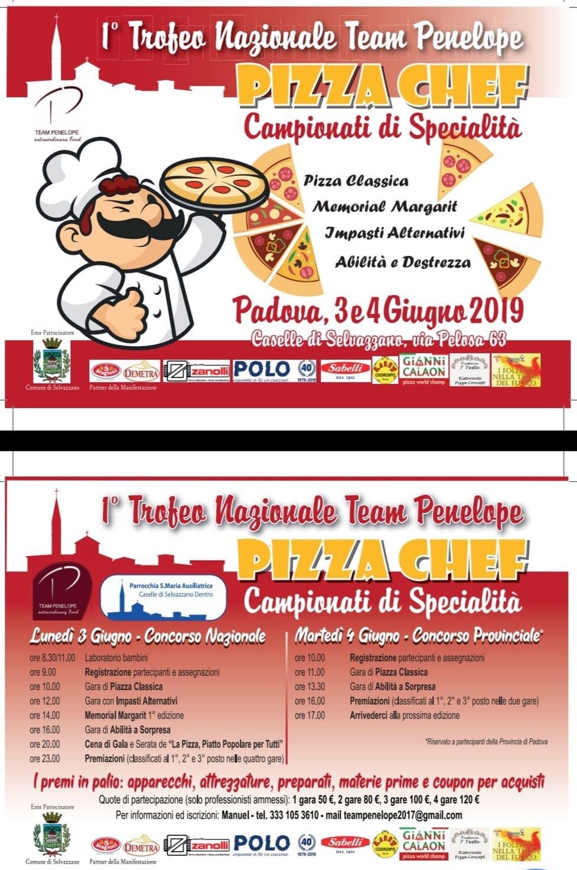 Pizza Chef 1º Trofeo Nazionale Team Penelope