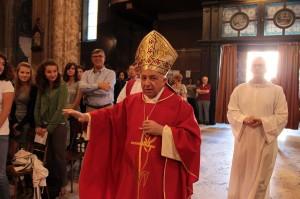 Il cardinal Tettamanzi a Vigevano