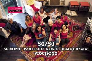 La campagna di Snoq per la democrazia paritaria