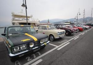 auto storiche Marina Aeroportoin attesa del via
