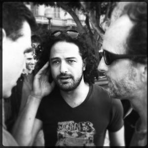 Carl, Gideon, Doug - piazza Carmine CA