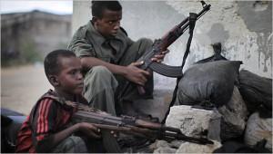 Somali kids kalashnikov