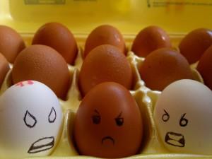 Racist eggs