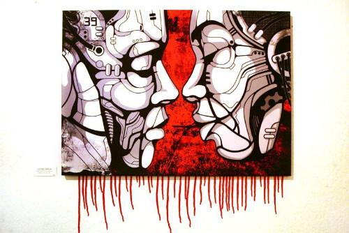 Un'opera di Marcello Gungui, alias WelcomeToMars