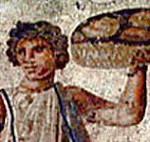 Ancient Roman mosaic banner thumbnail