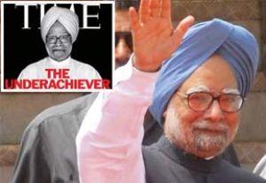 Manmohan Singh e la copertina di Time Asia