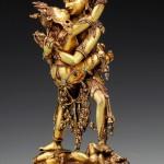 Presentata come il Buddha della felicità, è una delle opere in mostra a Treviso priva di descrizione del significato rituale tantrico