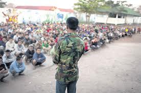 """Ospiti """"reclusi"""" a Somsanga compresi bambini di strada"""