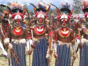 Tribali di Papua (foto Michael & Lori Johnson)