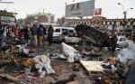 La scena di una delle stragi contro gli sciiti a Quetta