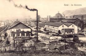 Immagine storica delle Acciaierie ternane