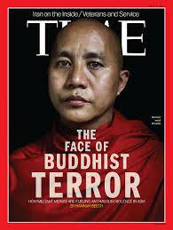 """Il titolo dice: """"Il volto del terrore buddhista"""""""