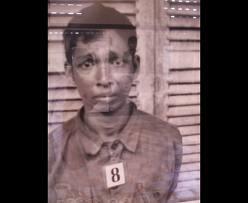 L'espressione sul volto di un prigioniero torturato e destinato a morte