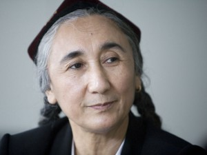 Rebiya Kadeer leader del World Uyghur Congress per i diritti umani del suo popolo