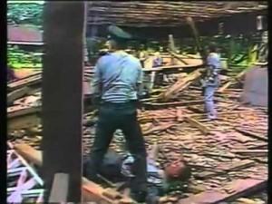 Un'immagine della bomba nordocoreana a Rangoon