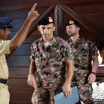 I due marines italiani e un poliziotto indiano