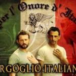Manifesto di orgoglio dei supporter di La Torre e Girone