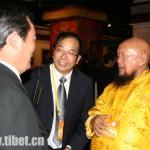 Il lama filo-cinese Ganchen tulku seguace del demone Shugden con i membri dello United Front Department