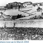 Le rivolte anticinesi del '59 davanti al Potala