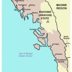 Mappa dell'Arakan