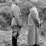 Vittorio Emanuele III e Mussolini