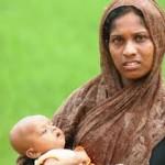 donna rohingya con bimbo