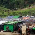 Baracche e profughi nella Terra di Nessuno tra Arakan birmano e Bangladesh