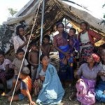 rohingya profughi tenda