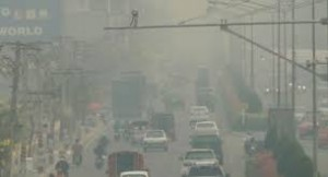 Chiang Mai avvolta nel fumo