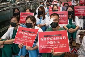 Le proteste nel centro di Hong Kong contro il dominio di Pechino