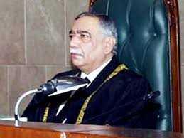 Il giudice costituzionale Saeed Khosa