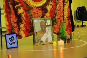 Una foto di Pattabhi Jois