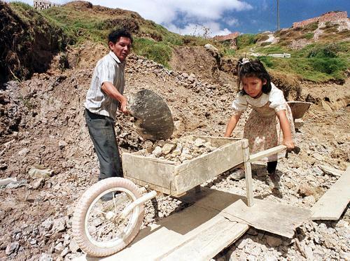 Nella seconda metà degli anni novanta, il lavoro minorile è entrato