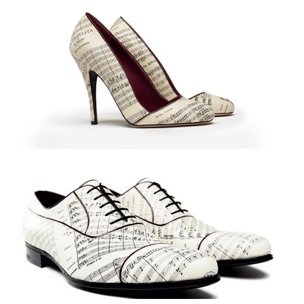 promo code 1e426 4f1f2 Se le scarpe calzano arte e musica, le proposte di a.testoni ...