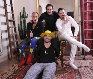 Foto di gruppo party La Ferramenta - Matteo Marchi Images