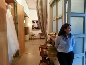 Lorella Cavallo in atelier